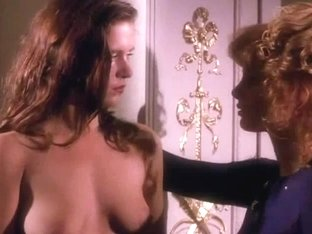 Brigitte Nielsen and Kimberley Kates in handcuffed heat