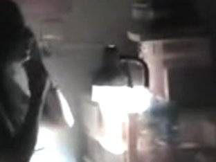 Busty teen in a voyeur clip