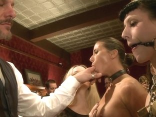 Lesbian Anal Training Party