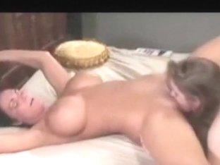 Pretty blonde milfs lesbians make a hot sex fun video and share on web,damn!