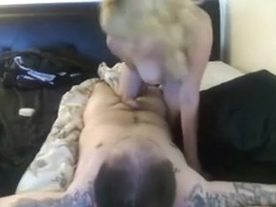 blond housewive fuck and fingering her bound spouse