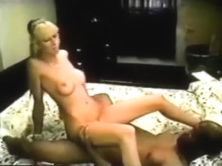 Taut and tall blondy honey infatuated with his darksome jock