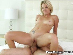Hottest pornstar Laura Bentley in Incredible Big Ass, MILF xxx movie