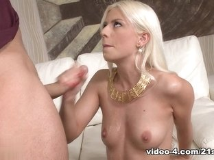 Crazy pornstar Jessie Volt in Amazing Cunnilingus, Blonde porn movie