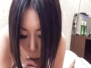 Exotic Japanese slut Mahiru in Horny JAV uncensored POV clip