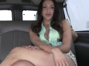 Sexual Vicki Chase is playing with big dick