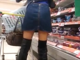 Lady in sexy boots
