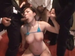Incredible Japanese whore Erena Tokiwa in Exotic Blowjob/Fera, Gangbang JAV video
