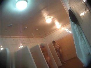 Hidden cameras in public pool showers 1049