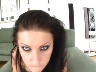 Hottest pornstar Nikki Rider in crazy facial, blowjob porn movie