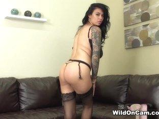 Hottest pornstar Tera Patrick in Crazy Brunette, Tattoos adult scene