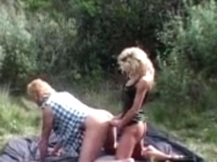 Angels Copulates Boy with big thong on in the Woods