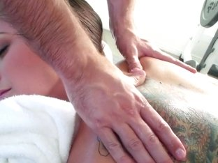 Dirty Masseur: A Nut Draining Training. Rilynn Rae, Keiran Lee