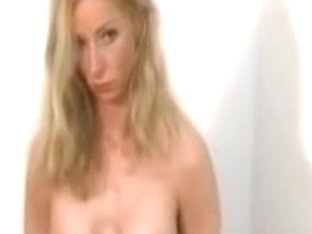 A great long BDSM movie of a blonde slave