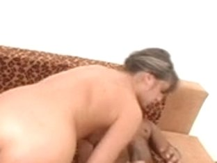 Oksana Takes A Wild DP With Big Black Dicks