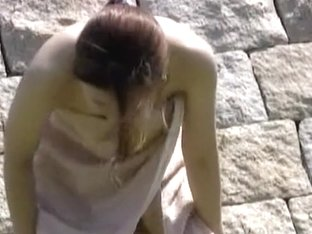 Cool public nudity video with some whimsical gal being easily fooled
