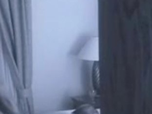 Hidden webcam of dark bull and white wife