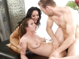 Ava Addams & Casey Calvert & Erik Everhard in Couples Seeking Girls #14