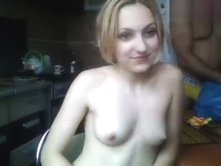 My_cocaine: blowjob in the kitchen