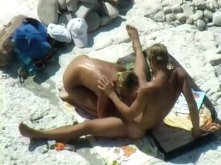 Blow Job on the beach