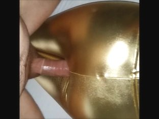 Craigslist immature in gold spandex leggings fucked 17