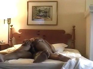 Wife riding pecker to big O