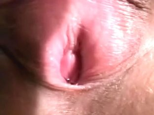 My wondrous French wife can't live without to flash her wet juicy crack