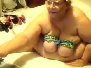 Trashy woman in glasses shows me how horny she can be when she needs money