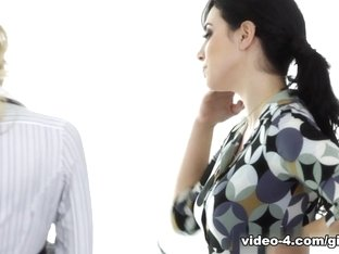 Incredible pornstars Jelena Jensen, Natalia Starr in Hottest Cunnilingus, Lesbian xxx video