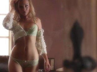 Gorgeous Kayden Kross touching herself until she gets wet