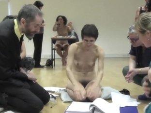 Naked on Stage 140 Nakedness