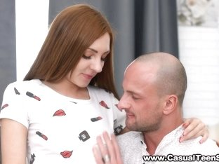 Casual Teen Sex - Kira Roller - Tempted by a nerdy model