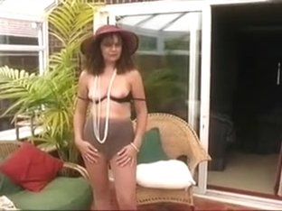 Mature Village Ladies stripping again....