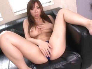 Horny Japanese model Erina Moa in Exotic JAV censored Masturbation, Hairy scene