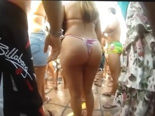 Candid Large Butts Selection - slow motion two