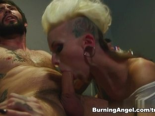 Crazy pornstar Tommy Pistol in Best Blonde, Gothic adult video
