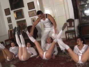 Crazy pornstars Abbie Cat and Cherry Kiss in horny college, blonde xxx movie