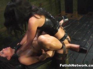 Exotic pornstars Alexa Pierce, Esmi Lee in Best Fetish, Stockings sex clip