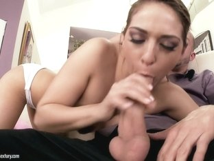 Amazing pornstar Sara Luvv in Fabulous Blowjob, College sex movie