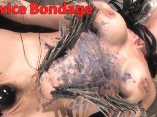 Horny fetish, bdsm sex clip with incredible pornstar Holly Heart from Kinkuniversity