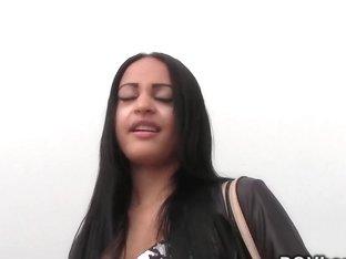 Tanned babe interracial pov voyeur sucking