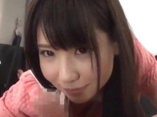 Naughty Asian teen Kimika Ichijou fucks in the car