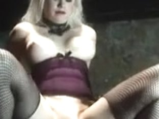 gorgeous blond and her dungeon