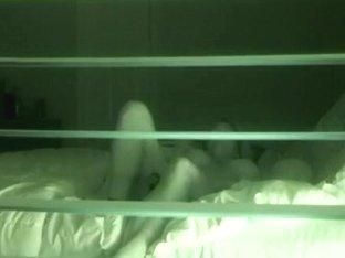 One voyeur watched through the window how nice gal masturbated
