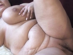 Older big beautiful woman with large love bubbles sucks and bonks