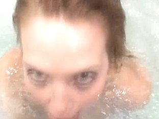 Check out Electra Angel in her underwater hot tub rub down