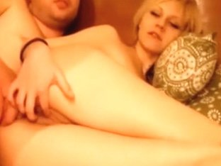 Blonde webcam beauty getting gazoo drilled by her partner
