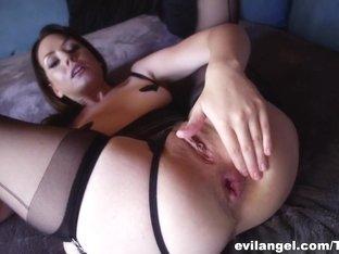 Crazy pornstars Chastity Lynn, Sarah Shevon in Fabulous Dildos/Toys, Stockings adult video
