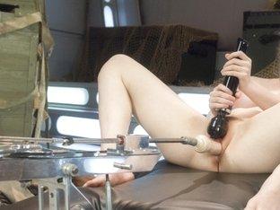 Best fetish porn movie with crazy pornstar Alaina Fox from Fuckingmachines