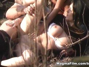 Best pornstar in Amazing Threesomes, Brunette porn video